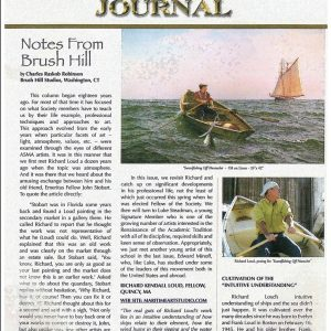 Richard Loud Featured In American Society Of Marine Artists (ASMA) Journal
