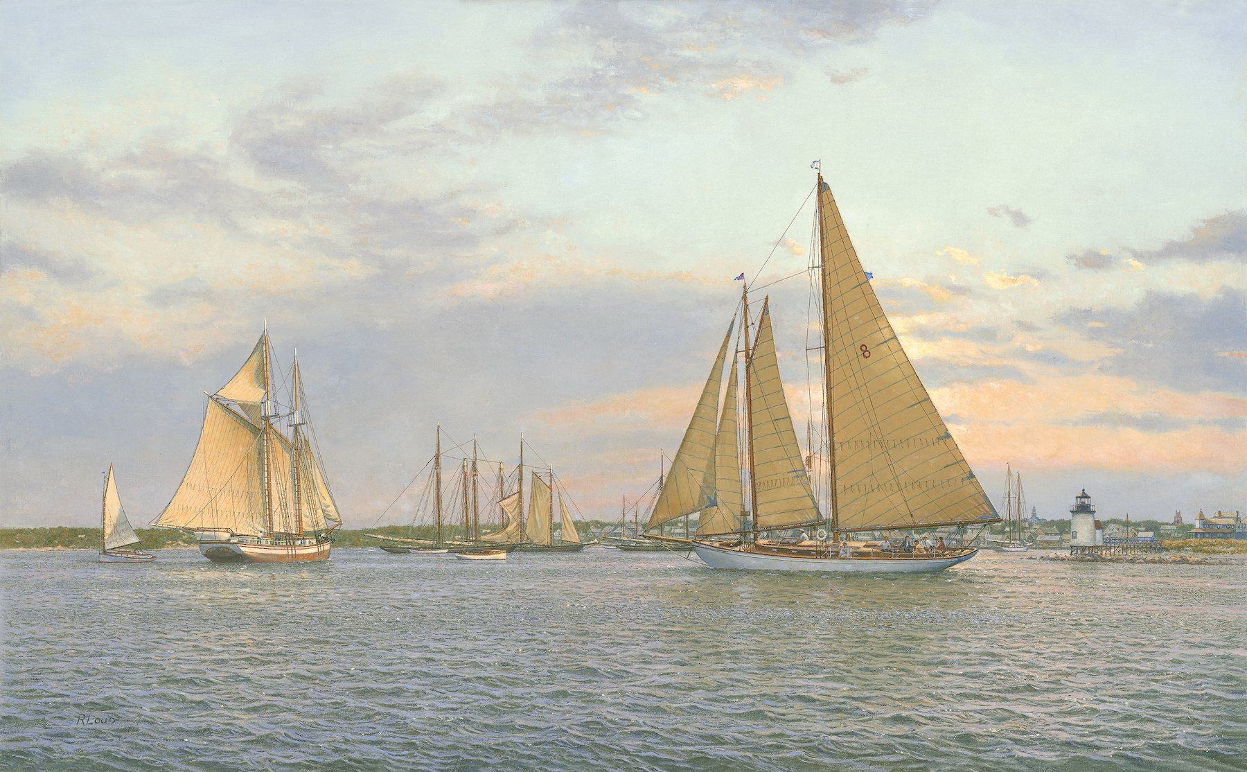 Grenadier, Nantucket Harbor, 1935