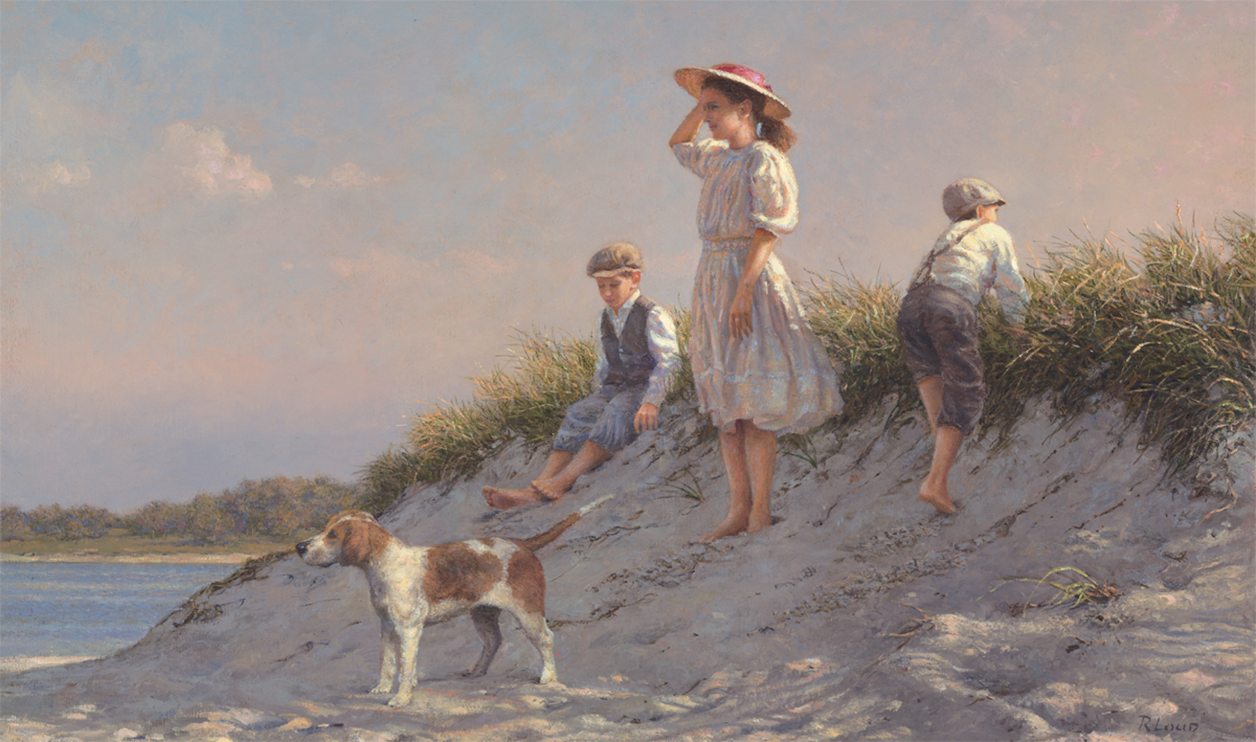 Looking Out To Sea, Westport MA C. 1890